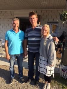 Sören Olsson, Mats Sjöström och Agnes Nilsson