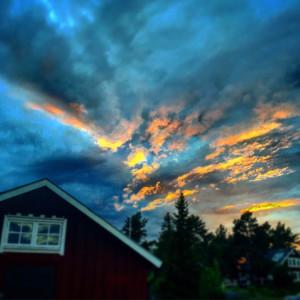 Himmel över Skäret. Foto: Pär Wallin