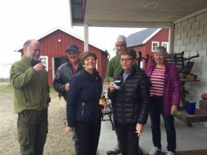 Hans Östbom, Göran Lindqvist, Johan Stenborg, Lisbeth Sjöström, Annemor Norell o Annika Östbom Saknas på bilden Anna o Jörgen Wedin